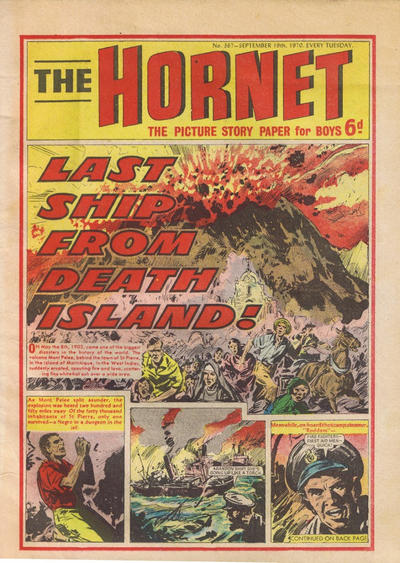 Cover for The Hornet (D.C. Thomson, 1963 series) #367