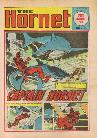 Cover for The Hornet (D.C. Thomson, 1963 series) #557