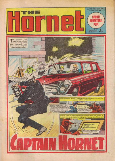 Cover for The Hornet (D.C. Thomson, 1963 series) #559