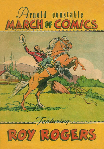 Cover for March of Comics (1946 series) #47 [Arnold Constable]