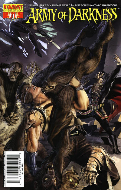 Cover for Army of Darkness (2005 series) #11 [Cover A]
