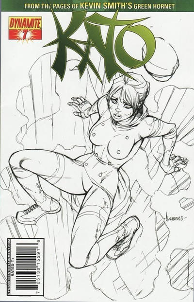 Cover for Kato (Dynamite Entertainment, 2010 series) #7 [Carlos Rafael Cover]
