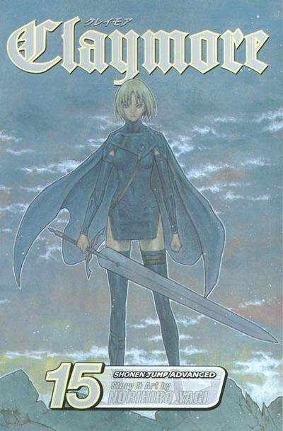 Cover for Claymore (Viz, 2006 series) #15