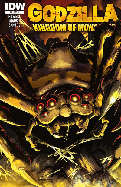 Cover for Godzilla: Kingdom of Monsters (IDW, 2011 series) #6 [Cover B]