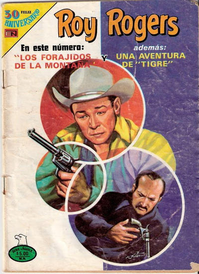 Cover for Roy Rogers (Editorial Novaro, 1952 series) #459