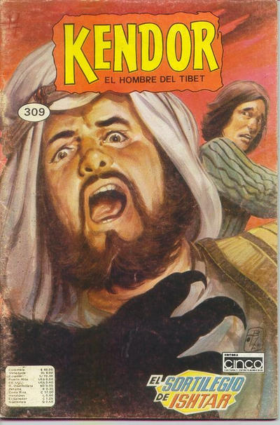 Cover for Kendor El Hombre Del Tibet (1987 series) #309