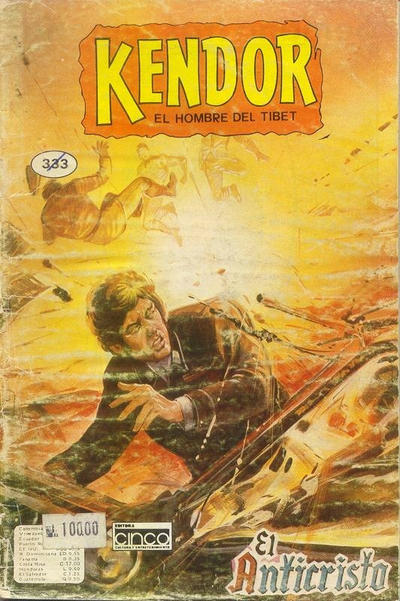 Cover for Kendor (Editora Cinco, 1982 series) #333