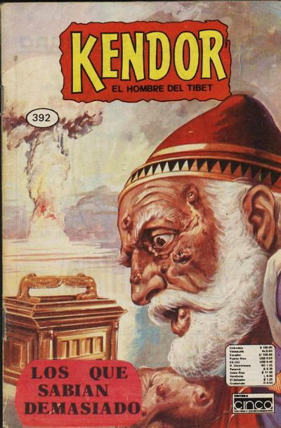 Cover for Kendor (Editora Cinco, 1982 series) #392