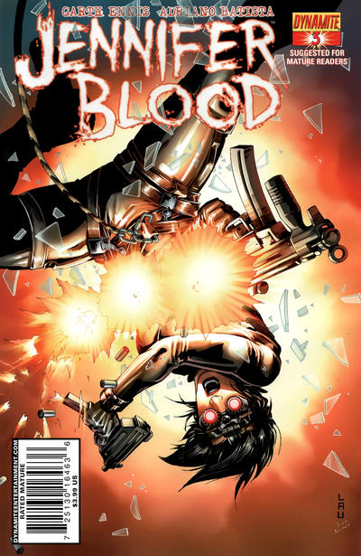 Cover for Jennifer Blood (Dynamite Entertainment, 2011 series) #3
