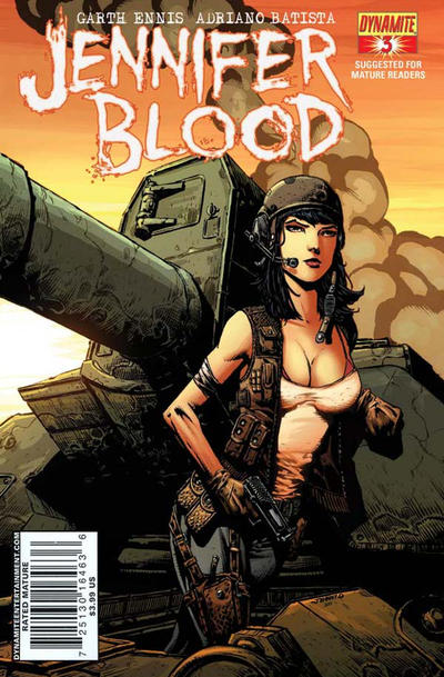 Cover for Jennifer Blood (2011 series) #3 [Negative Effect RI]