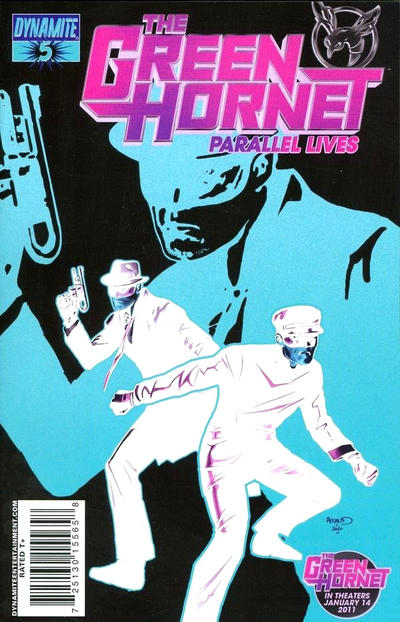 Cover for Green Hornet: Parallel Lives (Dynamite Entertainment, 2010 series) #5 [Negative Art RI]