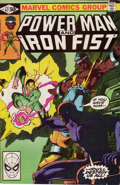Cover for Power Man and Iron Fist (Marvel, 1981 series) #67 [direct]