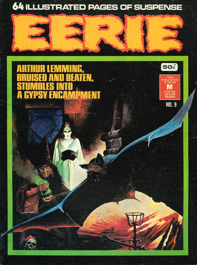 Cover for Eerie (K. G. Murray, 1974 series) #9