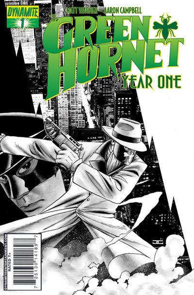 Cover for Green Hornet: Year One (Dynamite Entertainment, 2010 series) #1 [Ross RI]