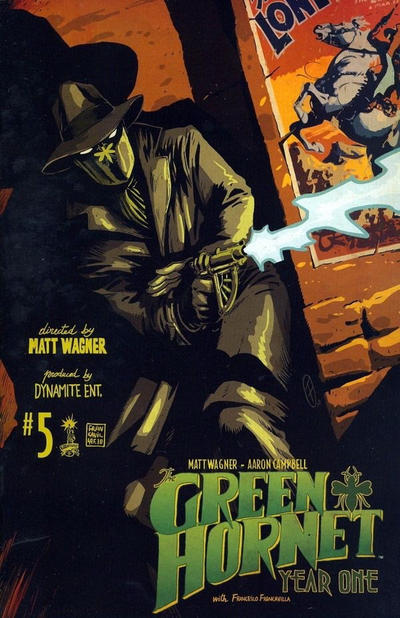 Cover for Green Hornet: Year One (2010 series) #5