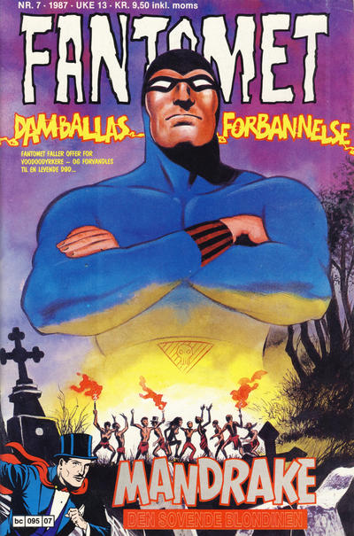 Cover for Fantomet (1976 series) #7/1987