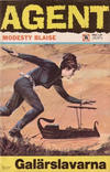 Cover for Agent Modesty Blaise (Semic, 1967 series) #14