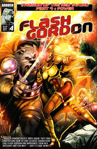 Cover Thumbnail for Flash Gordon: Invasion of the Red Sword (Ardden Entertainment, 2011 series) #4