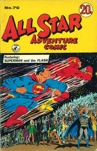 Cover Thumbnail for All Star Adventure Comic (K. G. Murray, 1959 series) #70