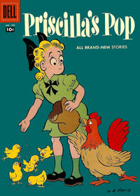 Cover Thumbnail for Four Color (Dell, 1942 series) #799 - Priscilla's Pop [10¢ edition]