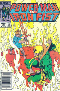Cover for Power Man and Iron Fist (Marvel, 1981 series) #113 [direct]