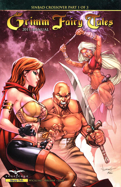 Cover for Grimm Fairy Tales 2011 Annual (Zenescope Entertainment, 2011 series)  [Fan Expo Variant]