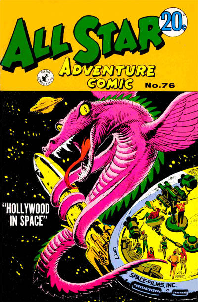 Cover for All Star Adventure Comic (K. G. Murray, 1959 series) #76