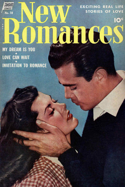 Cover for New Romances (Standard, 1951 series) #18