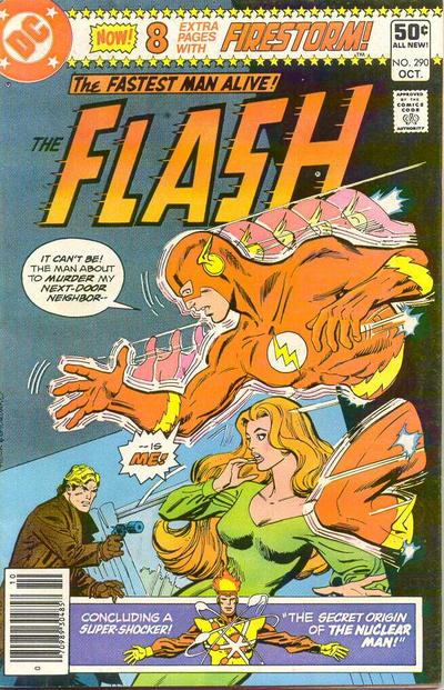 Cover for The Flash (DC, 1959 series) #290