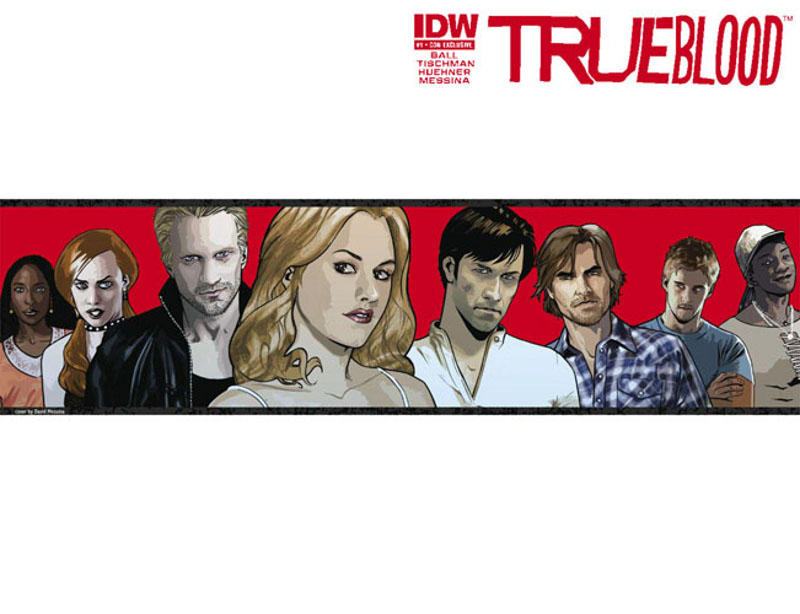 Cover for True Blood (2010 series) #1 [Diamond Con Exclusive Cover]