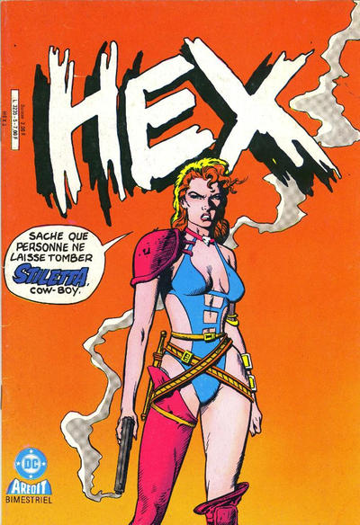 Cover for Hex (1986 series) #5
