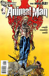 Cover for Animal Man (DC, 2011 series) #1