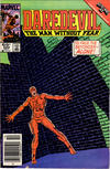 Cover Thumbnail for Daredevil (1964 series) #223 [Newsstand Edition]