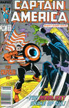 Cover for Captain America (Marvel, 1968 series) #344 [Newsstand Edition]