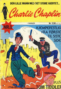 Cover Thumbnail for Charlie Chaplin (Williams Forlag, 1973 series) #1/1973
