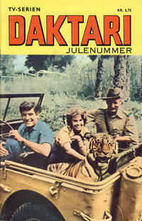 Cover Thumbnail for Daktari julenummer (Romanforlaget, 1968 series)