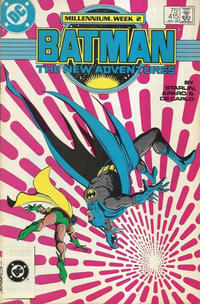 "Cover Thumbnail for Batman (DC, 1940 series) #415 [3rd Print; LL ""DC"" in White Background; Barcode Underneath]"