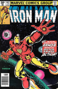 Cover Thumbnail for Iron Man (Marvel, 1968 series) #142 [Newsstand Edition]