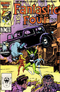 Cover Thumbnail for Fantastic Four (Marvel, 1961 series) #291 [Direct Sales Edition]