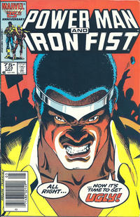 Cover Thumbnail for Power Man and Iron Fist (Marvel, 1981 series) #123 [newsstand]