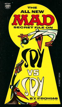 Cover Thumbnail for Mad's Spy Vs Spy (New American Library, 1965 series) #D2765