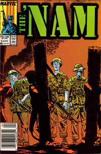 Cover Thumbnail for The 'Nam (Marvel, 1986 series) #5 [Newsstand Edition]