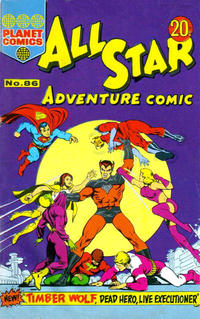 Cover Thumbnail for All Star Adventure Comic (K. G. Murray, 1959 series) #86