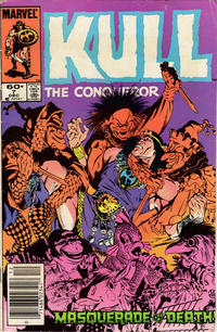 Cover Thumbnail for Kull the Conqueror (Marvel, 1983 series) #7 [Newsstand Edition]