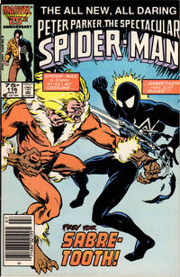Cover Thumbnail for The Spectacular Spider-Man (Marvel, 1976 series) #116 [Newsstand Edition]