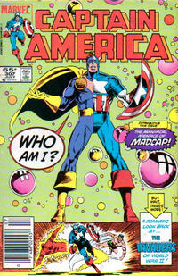 Cover Thumbnail for Captain America (Marvel, 1968 series) #307 [Newsstand Edition]