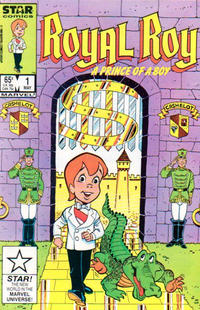 Cover Thumbnail for Royal Roy (Marvel, 1985 series) #1 [Direct Edition]