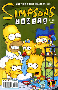 Cover Thumbnail for Simpsons Comics (Bongo, 1993 series) #182