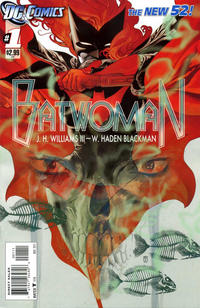 Cover Thumbnail for Batwoman (DC, 2011 series) #1