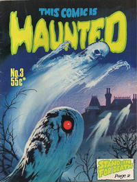 Cover Thumbnail for This Comic Is Haunted (Gredown, 1976 ? series) #3